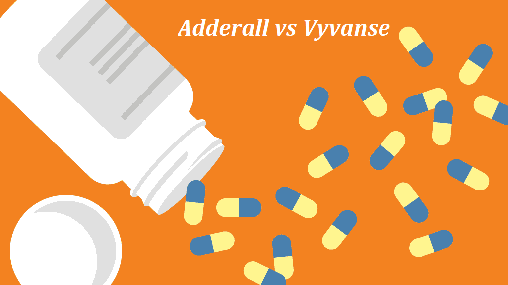 Adderall vs Vyvanse